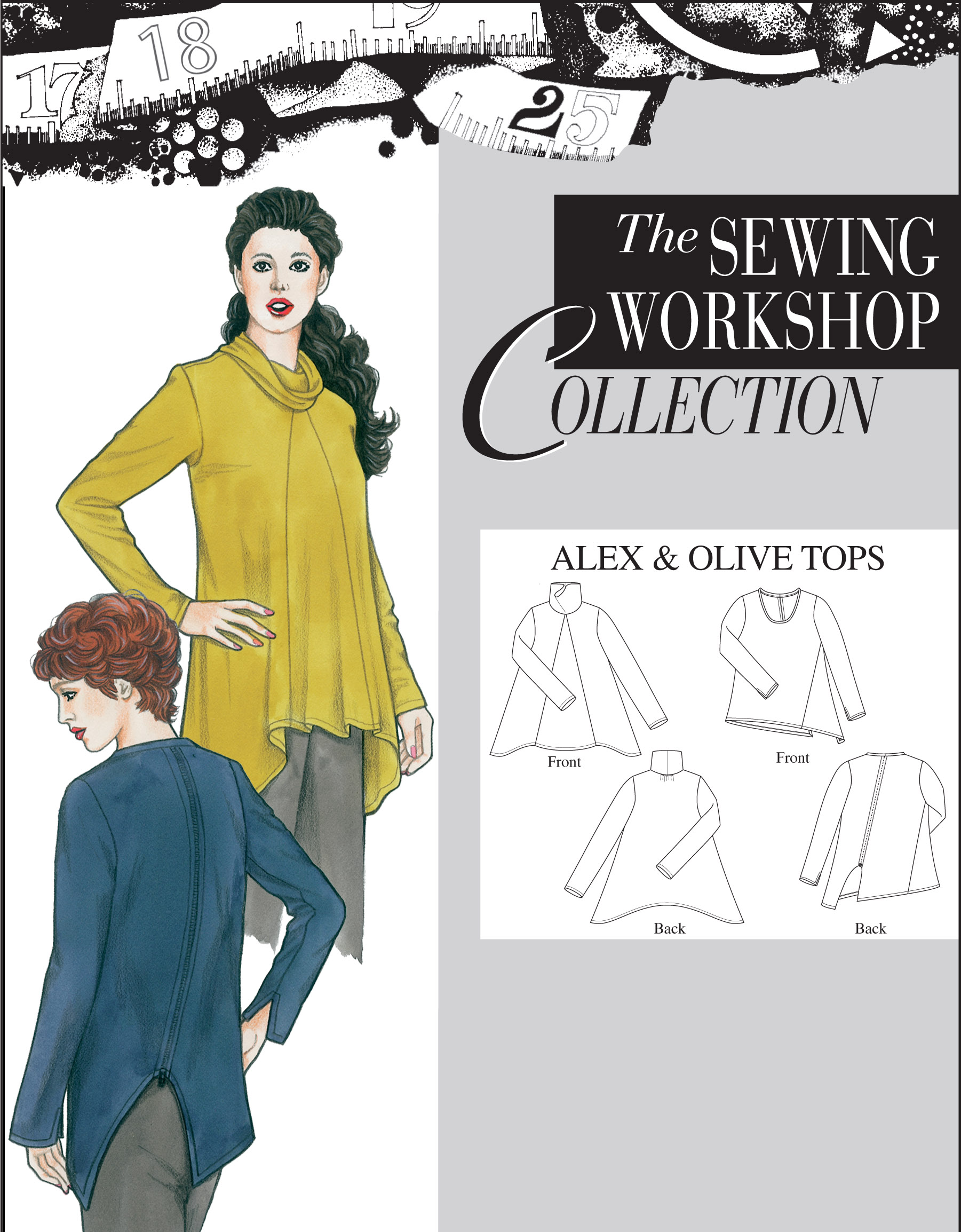 Sewing Workshop Alex & Olive Tops
