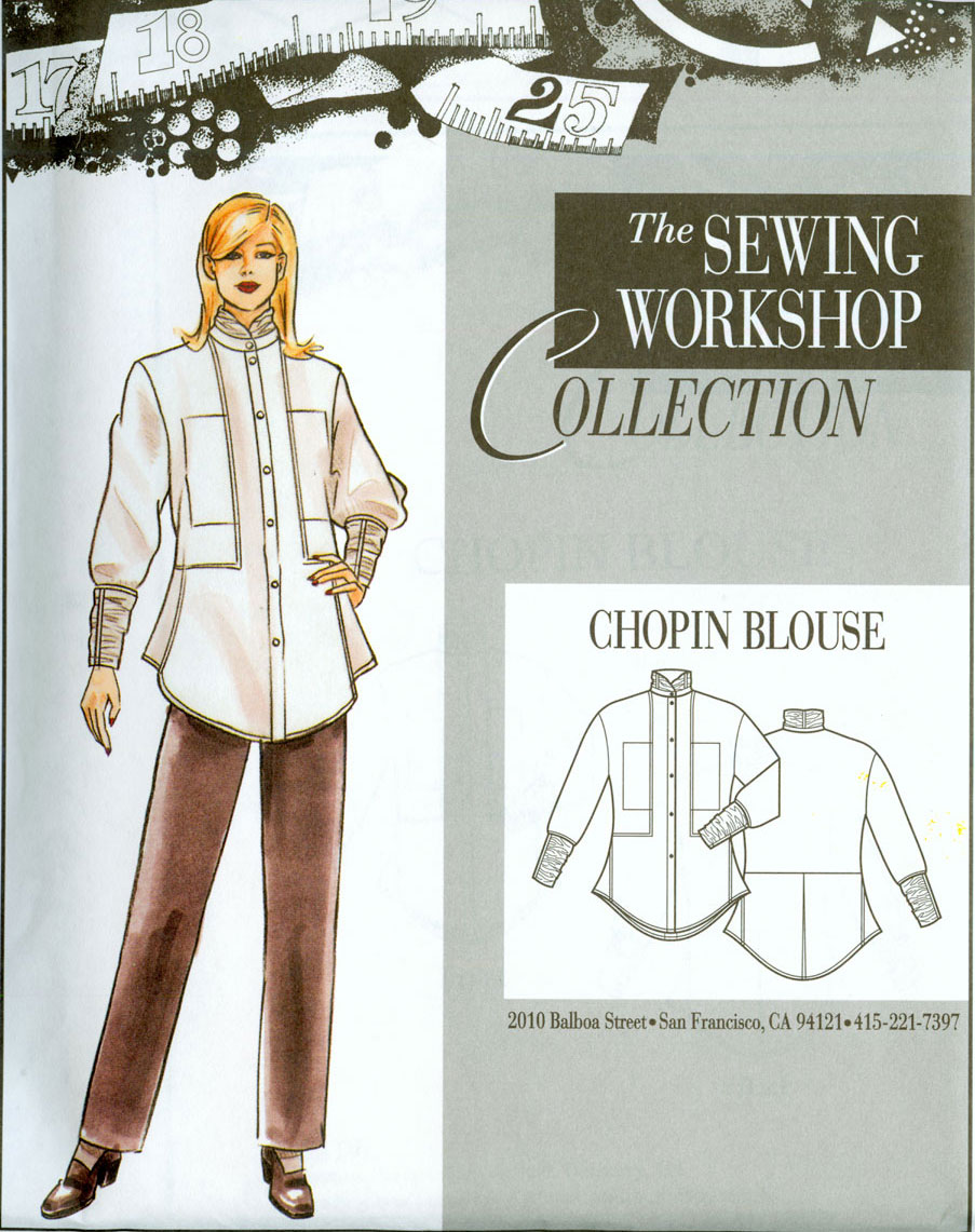 Sewing Workshop Chopin Blouse Pattern