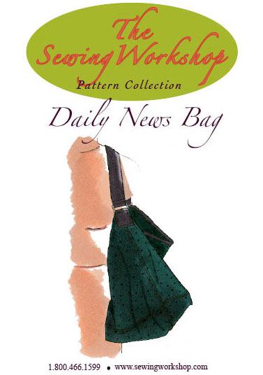 Sewing Workshop Daily News Bag Pattern