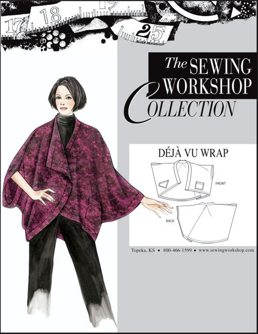 Sewing Workshop Deja Vu Wrap Pattern
