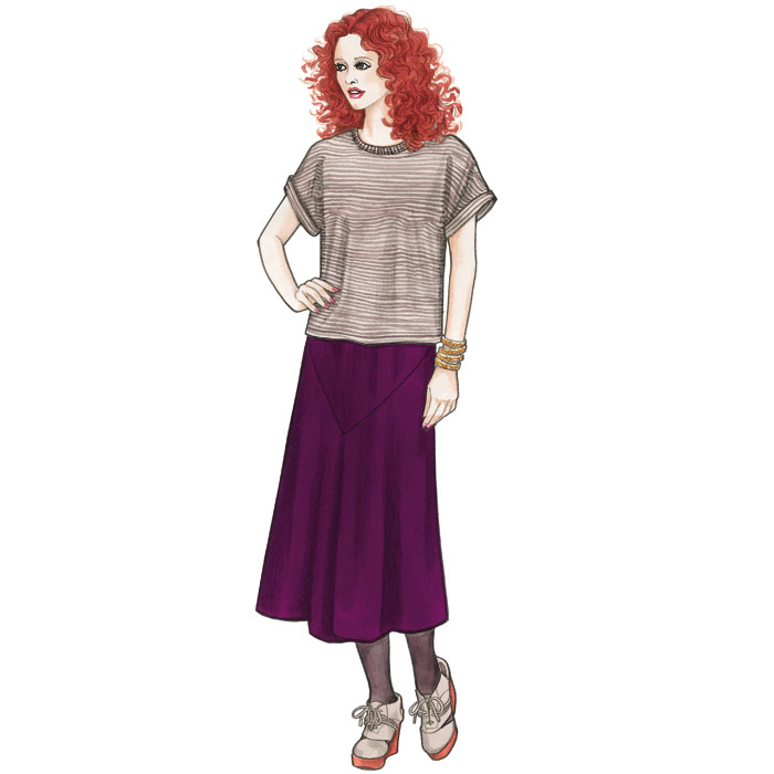Sewing Workshop Eureka Top & Skirt Eureka Top & Skirt