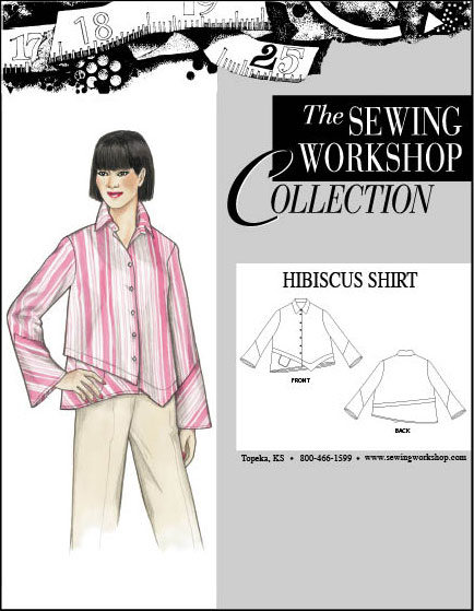 Sewing Workshop Hibiscus Shirt Hibiscus Shirt