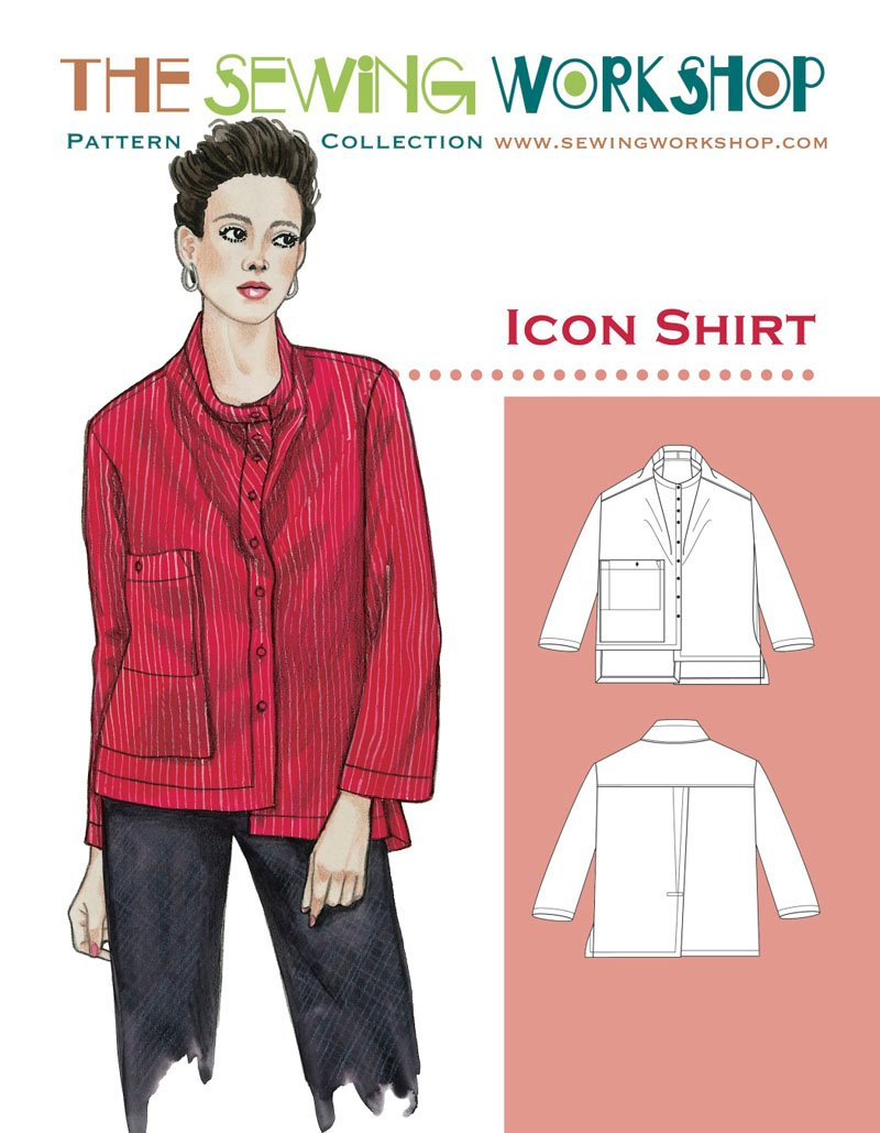 Sewing Workshop Icon Shirt Icon Shirt