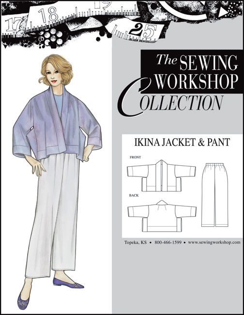 Sewing Workshop Ikina Jacket & Pants Pattern