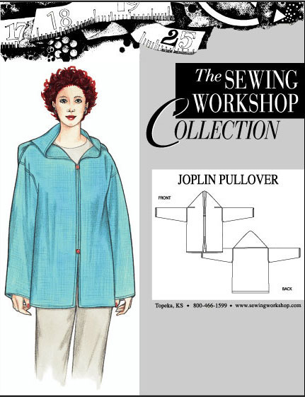 Sewing Workshop Joplin Pullover Pattern
