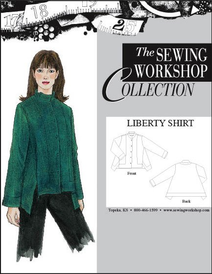 Sewing Workshop Liberty Shirt Pattern