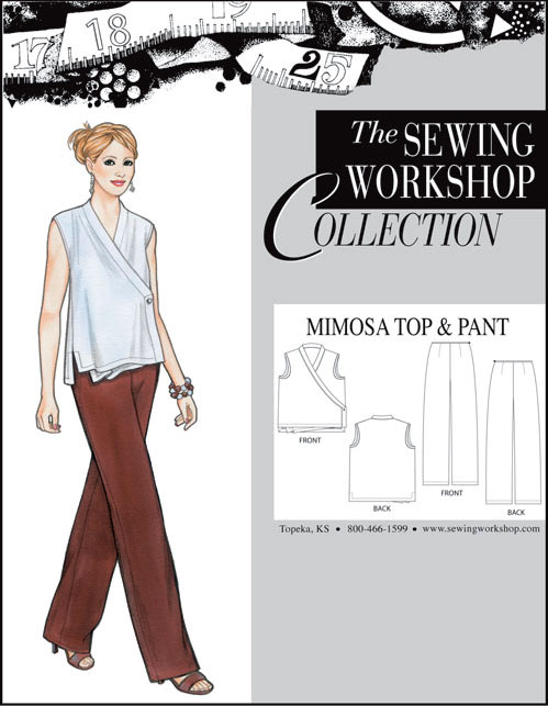 Sewing Workshop Mimosa Top & Pants Pattern