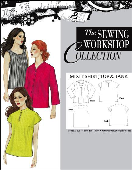 Sewing Workshop MixIt Shirt, Top & Tank MixIt Shirt, Top & Tank