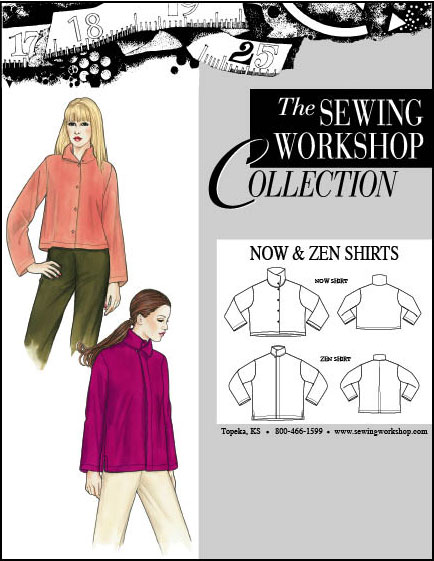 Sewing Workshop Now & Zen Shirts Pattern