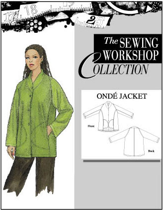 Sewing Workshop Onde Jacket Pattern