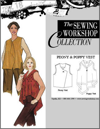 Sewing Workshop Peony & Poppy Vest Pattern