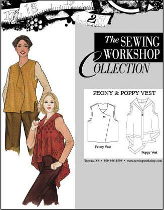 Sewing Workshop Peony & Poppy Vest Peony & Poppy Vest
