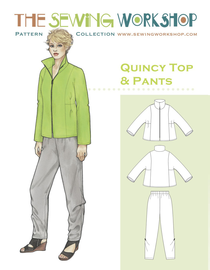 Sewing Workshop Quincy Top and Pants Quincy Top and Pants
