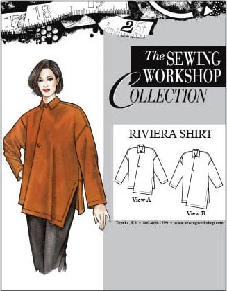Sewing Workshop Riviera Shirt Pattern