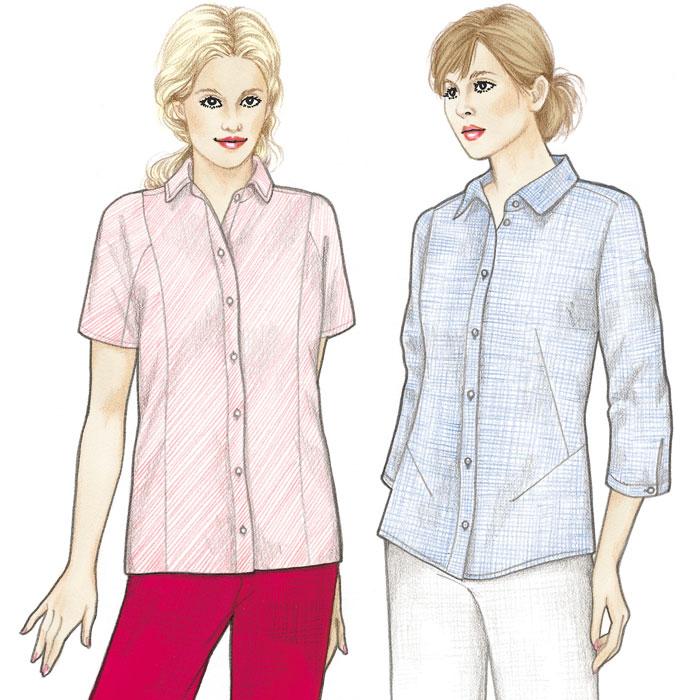 Sewing Workshop Siena & Cortona Shirts Siena & Cortona Shirts
