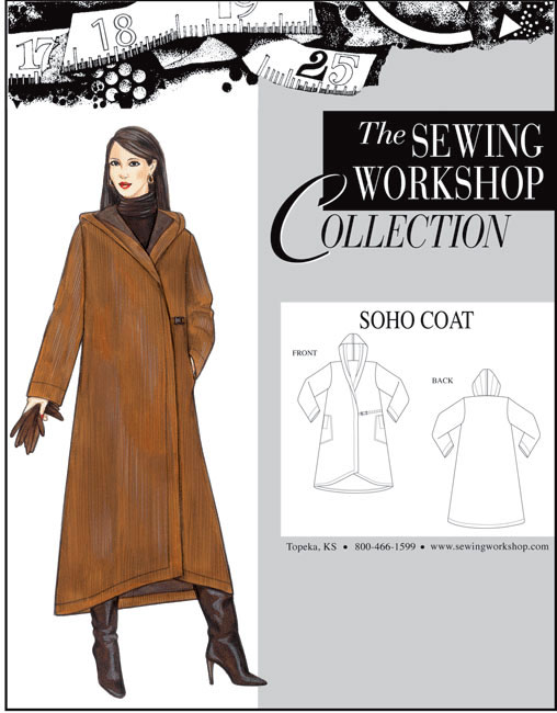 Sewing Workshop Soho Coat Pattern