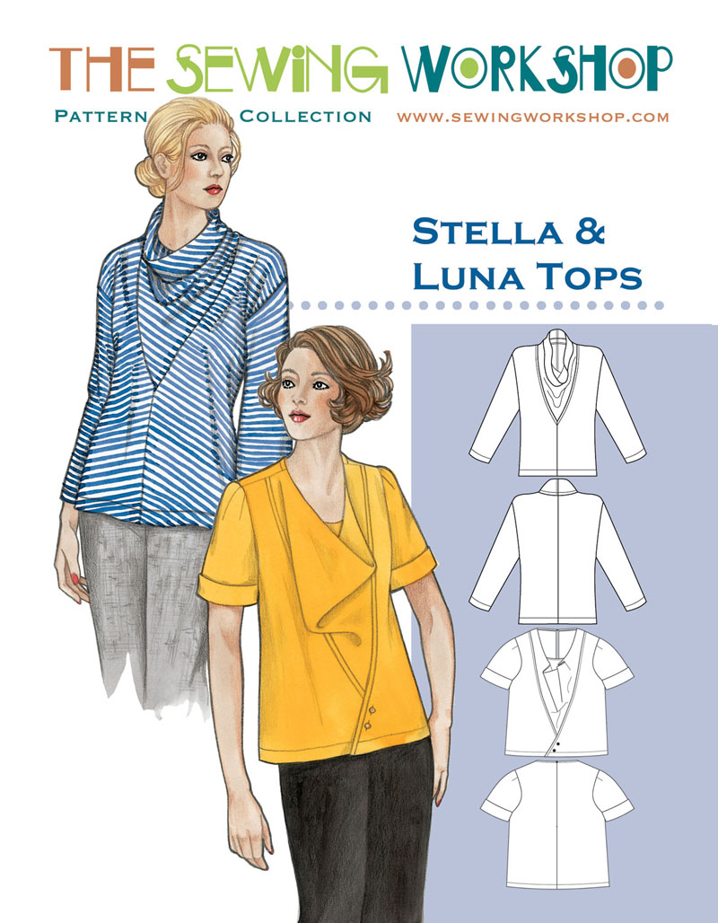 Sewing Workshop Stella and Luna Tops