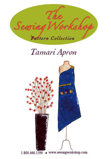 Sewing Workshop Tamari Apron Pattern