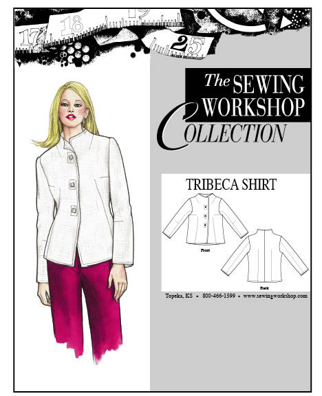 Sewing Workshop Tribeca Shirt Pattern