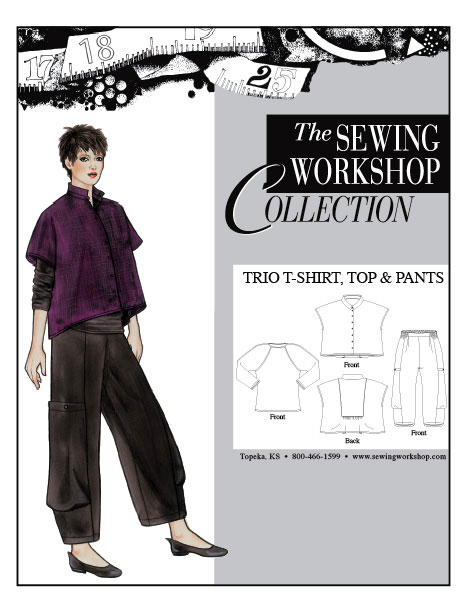 Sewing Workshop Trio T-Shirt, Top & Pants Pattern