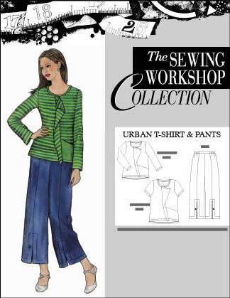 Sewing Workshop Urban T-Shirt & Pants Pattern