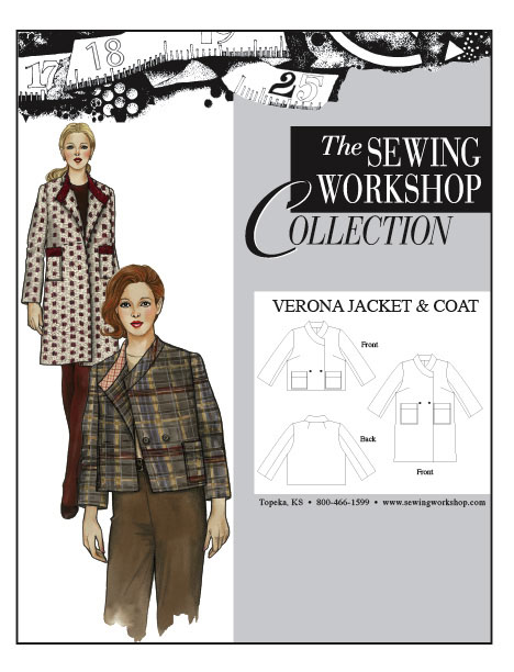 Sewing Workshop Jacket Verona Jacket and Coat