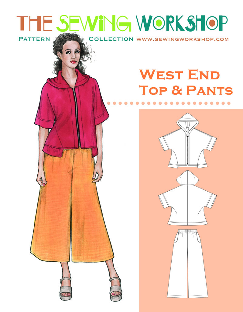 Sewing Workshop West End Top and Pants West End
