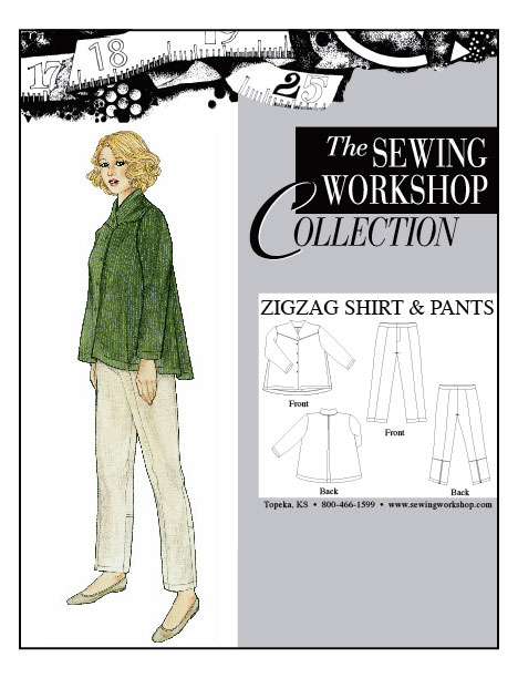 Sewing Workshop Zigzag Shirt & Pants Pattern
