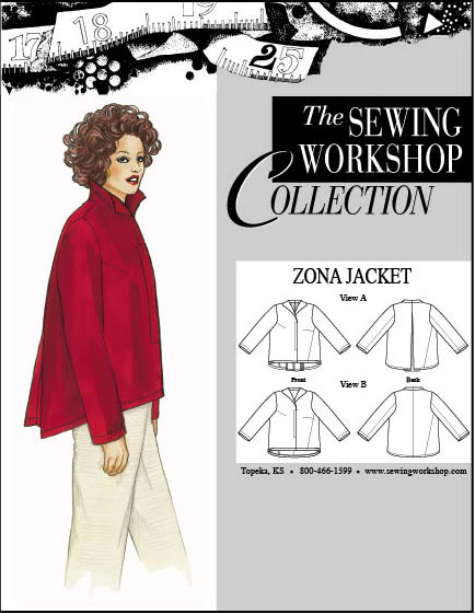 Sewing Workshop Zona Jacket Pattern