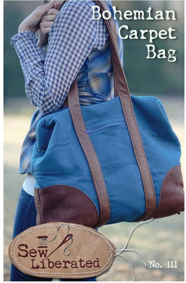 Sew Liberated Bohemian  Carpet Bag 111