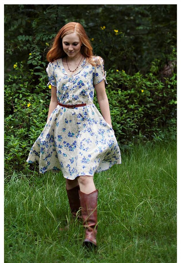 Sew Liberated Clara Dress 118