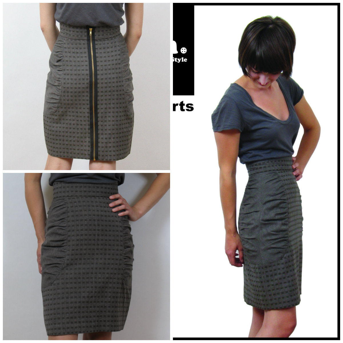 Sewn Square One Skirt Smarts 1003
