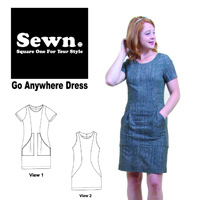Sewn Square One Go Anywhere Dress Pattern