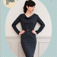 Sew Over It Cowl Neck Dress Digital Pattern
