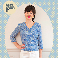 Sew Over It Susie Blouse