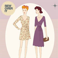Sew Over It Ultimate Wrap Dress Digital Pattern