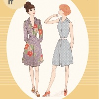 Sew Over It Vintage Shirt Dress Digital Pattern