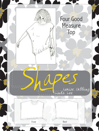 Shapes Four Good Measure Pattern (Size 1-3)