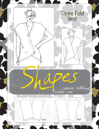 Shapes Three Fold Vest Pattern