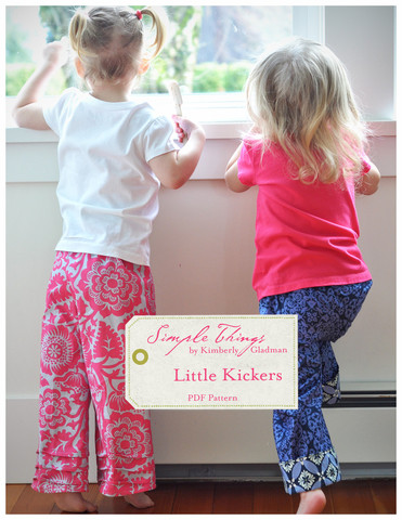 Simple Things Little Kickers Downloadable Pattern 001