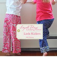 Simple Things Little Kickers Digital Pattern (001)