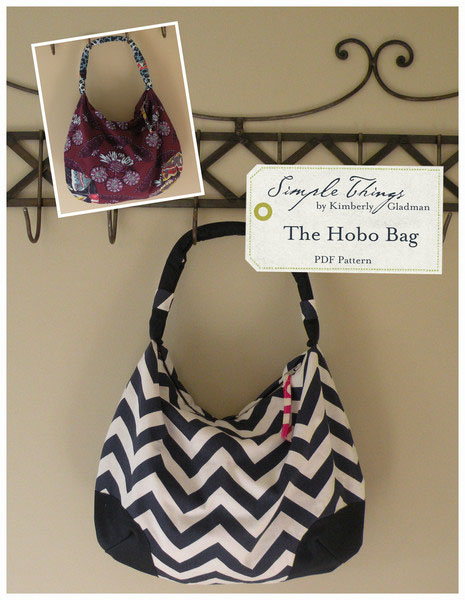 Simple Things The Hobo Bag Downloadable Pattern The Hobo Bag