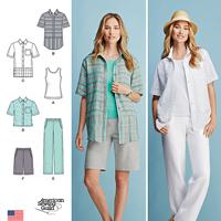 Simplicity 1203 Pattern ( Size 10-12-14-16-18 )