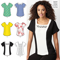 Simplicity 1316 Pattern ( Size 14-16-18-20-22 )