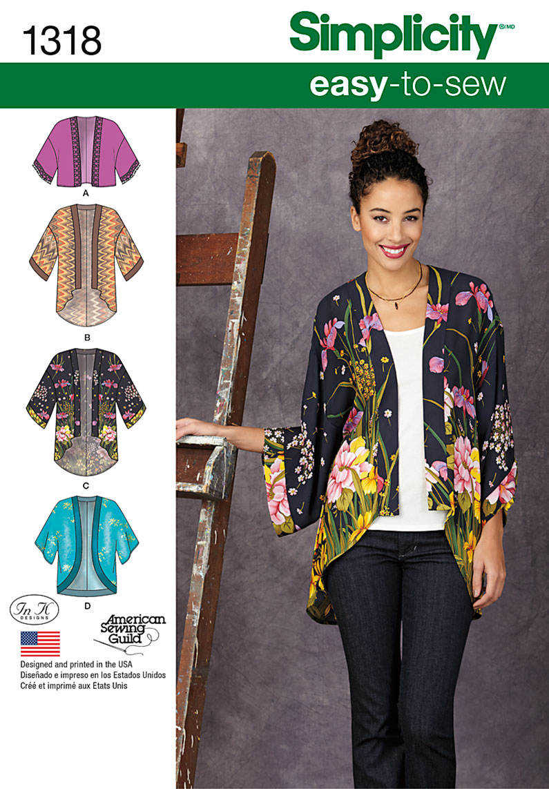 Kimono Jacket Sewing 87