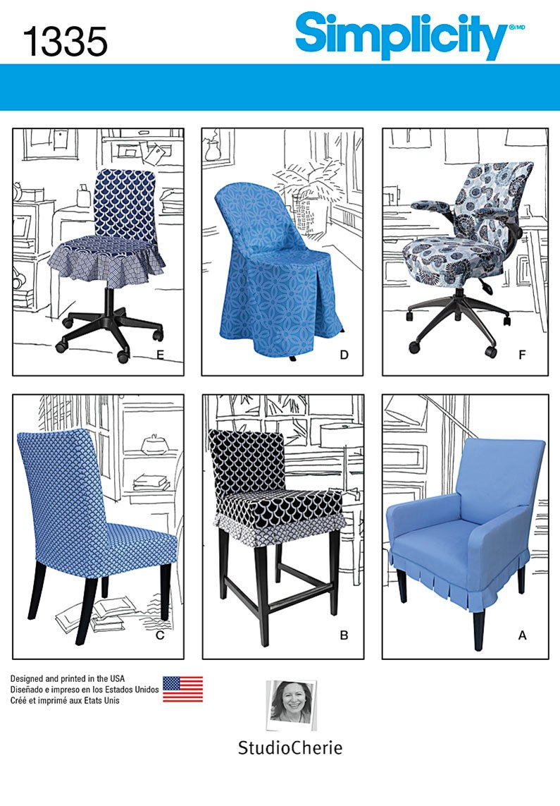 Simplicity Chair Covers for Ikea� and Realspace� Chairs 1335