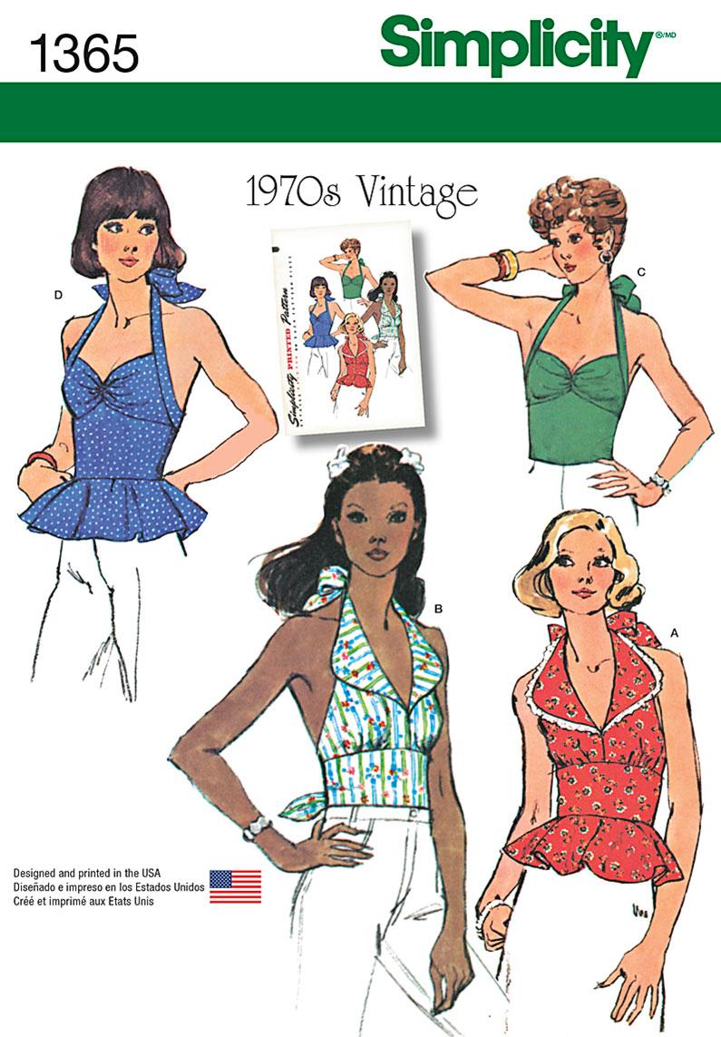Vintage halter top patterns