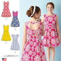 Simplicity 1382 Pattern ( Size 8-10-12-14-16 )