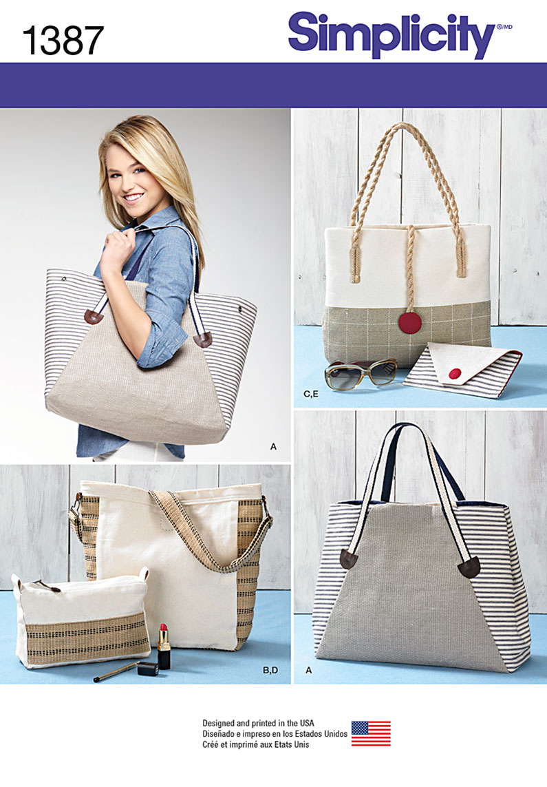 Simplicity Bags in Assorted Sizes 1387