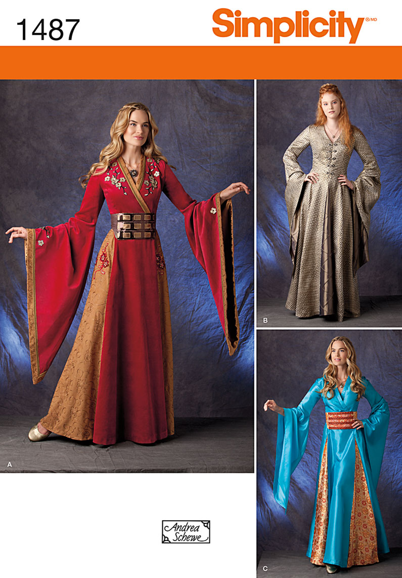 Simplicity Misses' Costume Gown 1487
